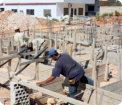 man constructing