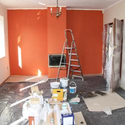 house under repair